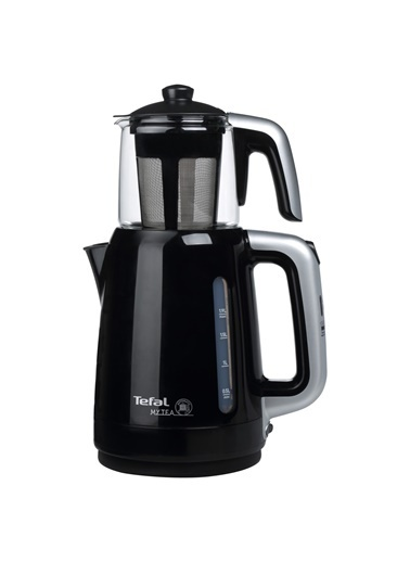 Tefal My Tea Siyah 1500 W Cam Demlikli Çay Makinesi Siyah